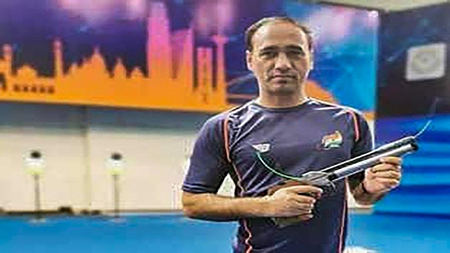 Manish Narwal and Singhraj win Gold and Silver medal at the Mixed 50m Pistol SH1 final at the Tokyo Paralympics