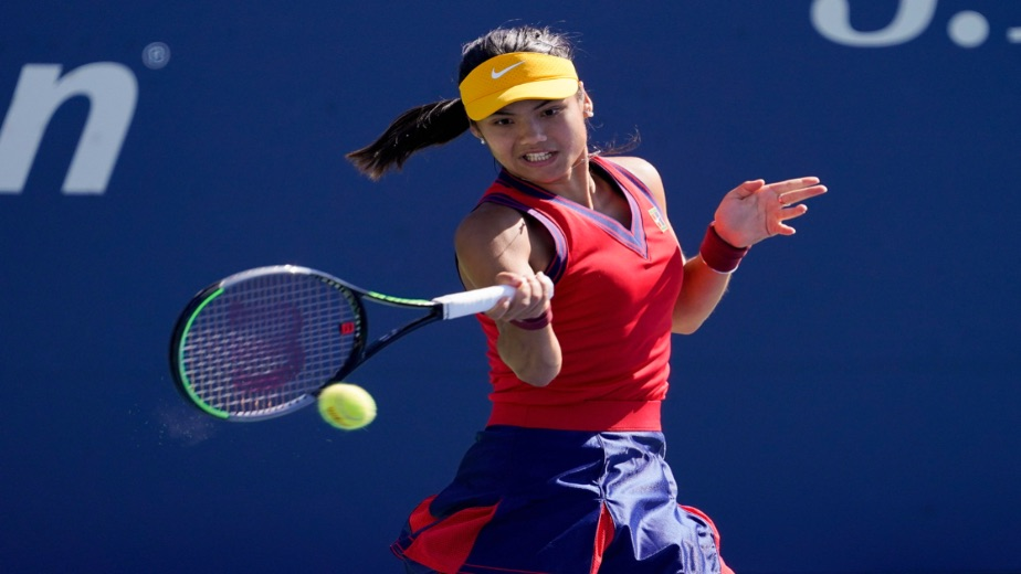 Emma Raducanu the top newcomer in the WTA tour this season