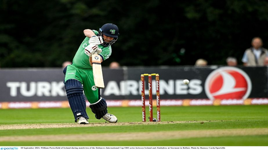 Ireland's superb batting performance goes in vain as match abandoned due to persistent rain against Zimbabwe