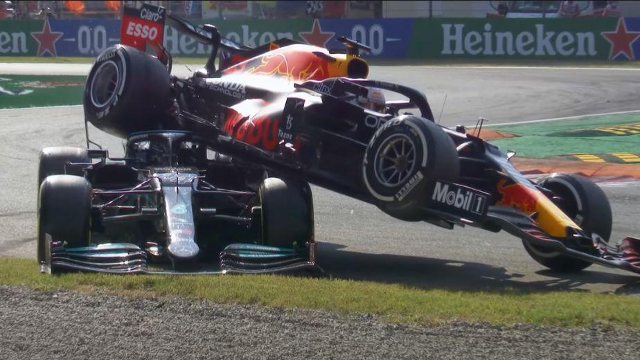 Daniel Ricciardo wins Italian GP as Max Verstappen and Lewis Hamilton crash again