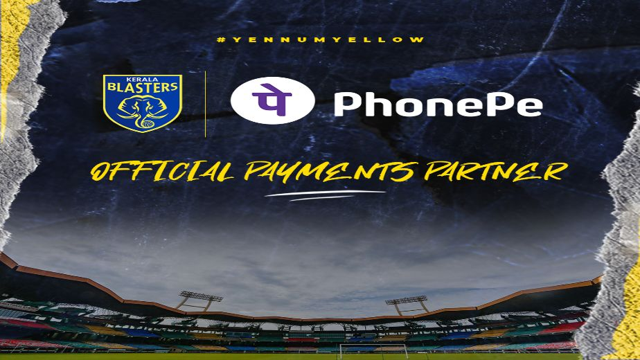Indian Super League club Kerala Blasters FC partners with PhonePe as official payments partner