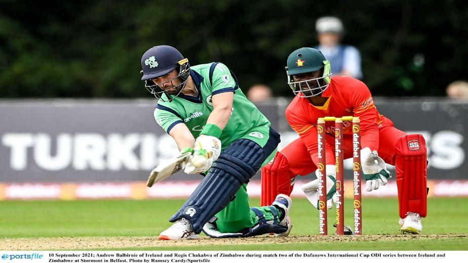 Ireland captain Andrew Balbirnie aims to finish home season on a high