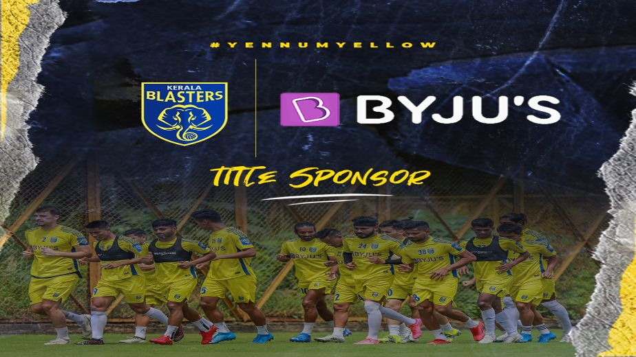 Kerala Blasters FC extend association with BYJU'S as the clubs title sponsor