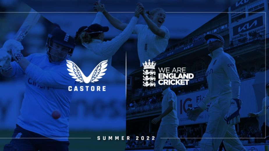 Castore becomes the Official Kit Supplier to the England Cricket team