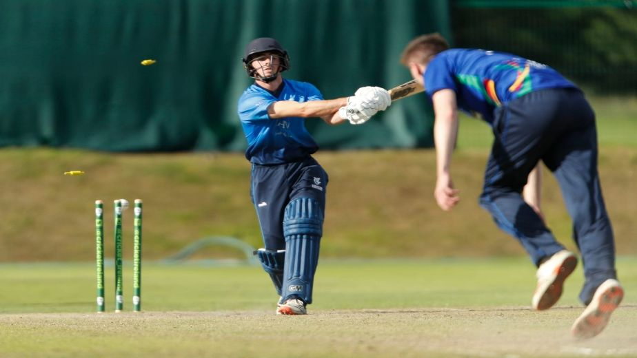 North West Warriors win the Inter Provincial T20 trophy after defeating win Leinster Lightning