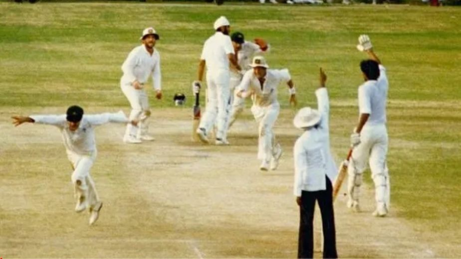 35 years since the iconic tied Test match between India and Australia in Chennai