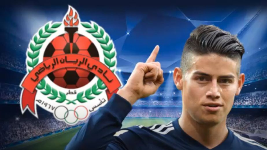 Colombian footballer James Rodriguez joins Qatari club Al Rayyan