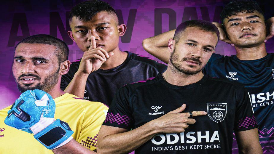 Odisha FC reveal home kit for the new Indian Super League season