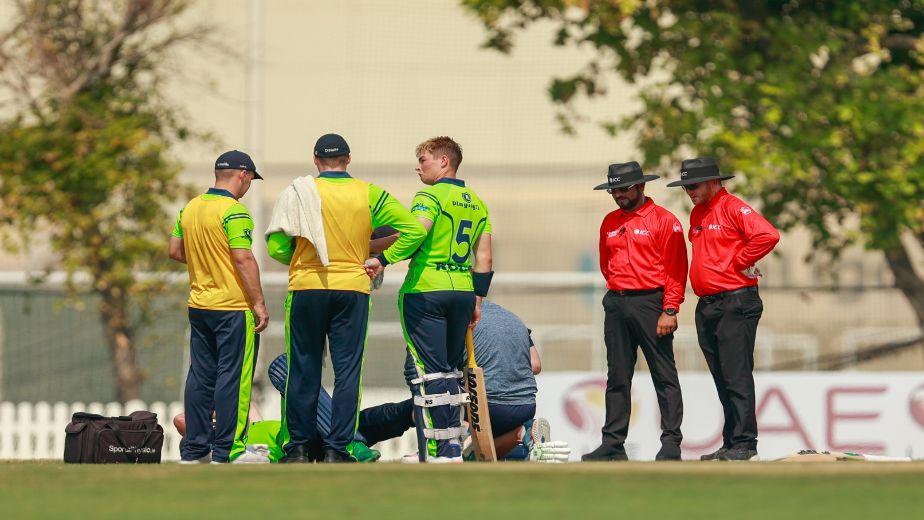 Cricket Ireland issue update on Andrew Balbirnie's injury
