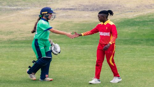 Amy Hunter leads Ireland Women to first series victory on foreign soil by win against Zimbabwe