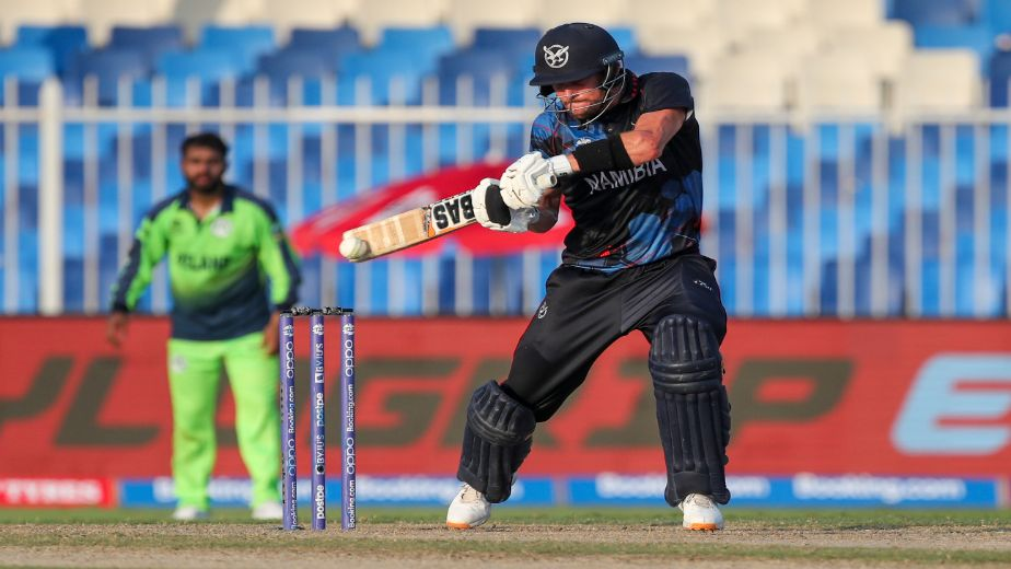 Namibia make history by qualifying for ICC T20 World Cup Super 12 stage with victory over Ireland