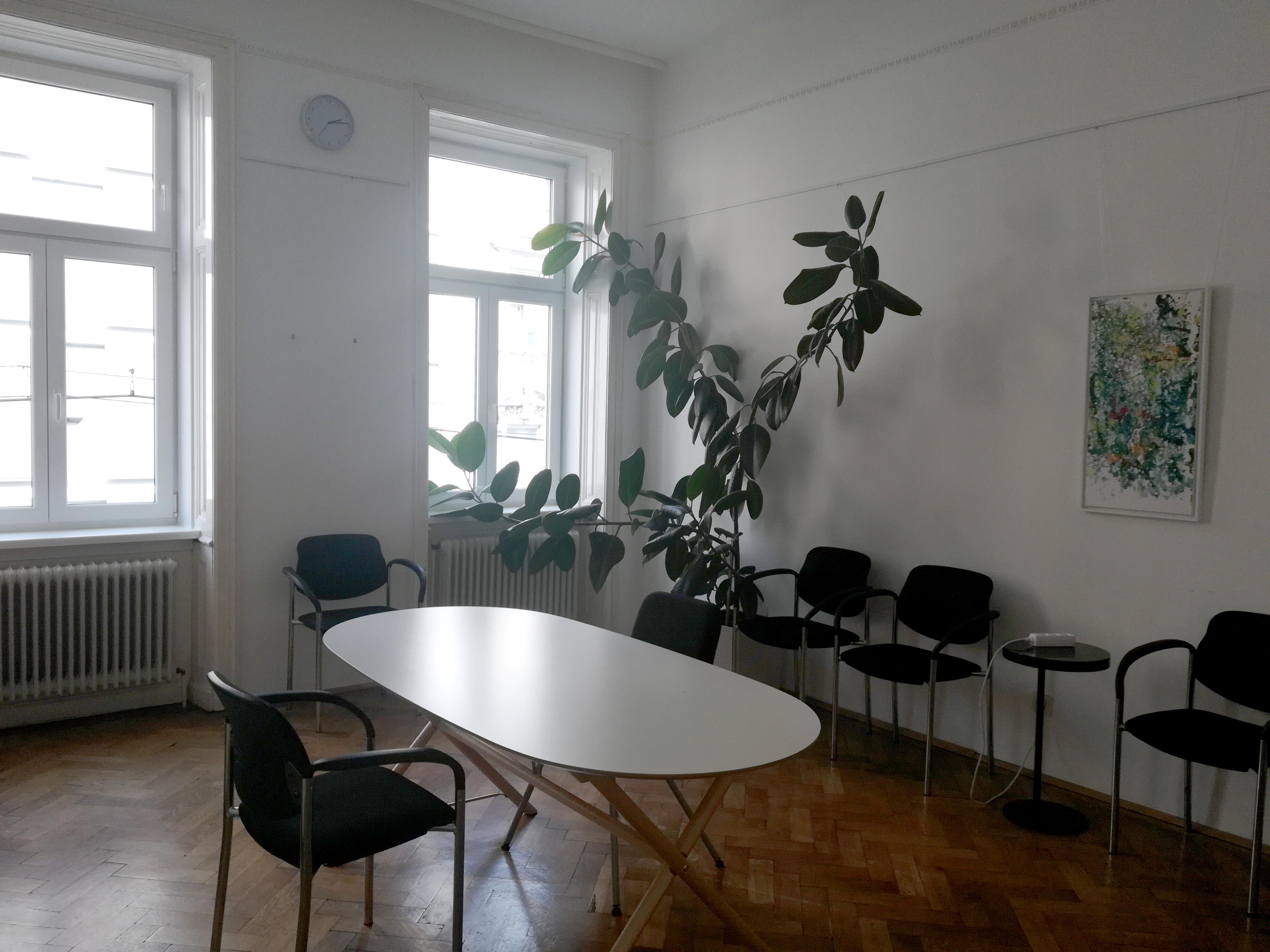 Freundlicher Büroarbeitsplatz in der Währinger Straße, 1180