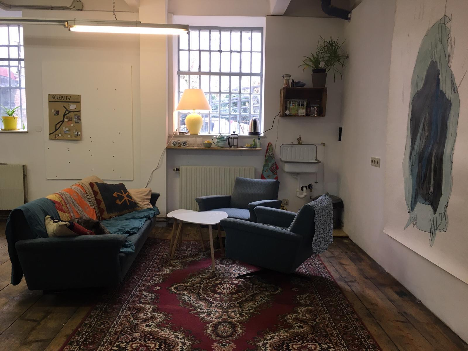 Atelierplatz frei im Studio III