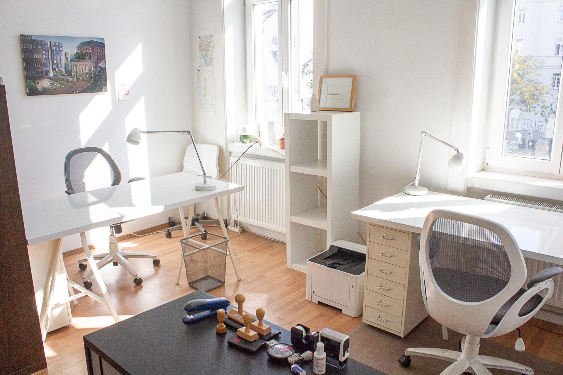 Bürozimmer, Arbeitspltz, co-working 1060 Pilgramgasse, Wien
