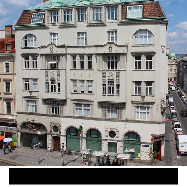 Repräsentatives Jugendstilhaus am Siebensternplatz  SharedOffice im 3. Liftstock