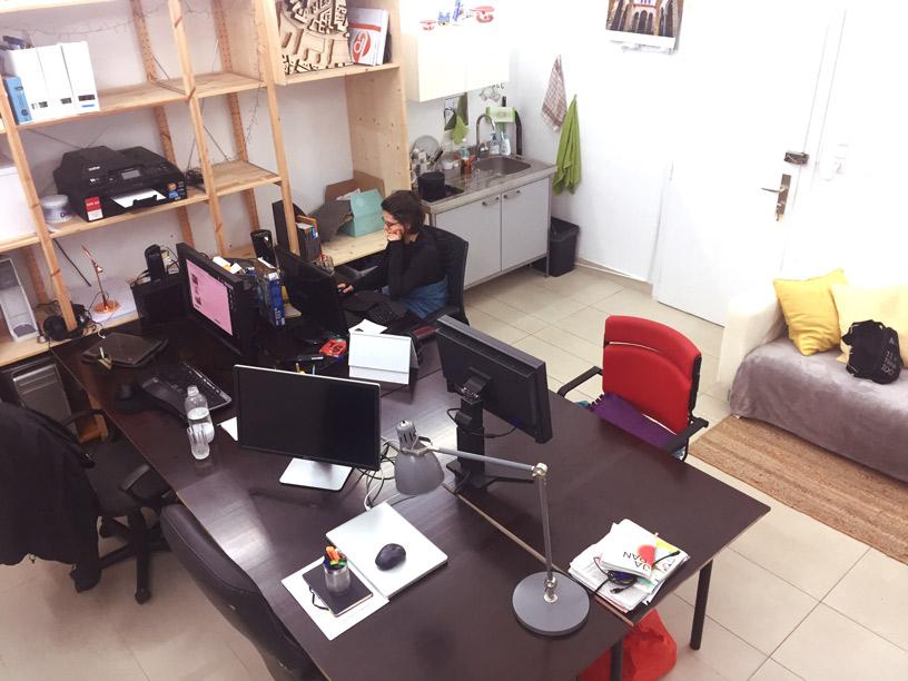 Bürogemeinschaft mitten im 8. - fixe Plätze und Mitbenützung!