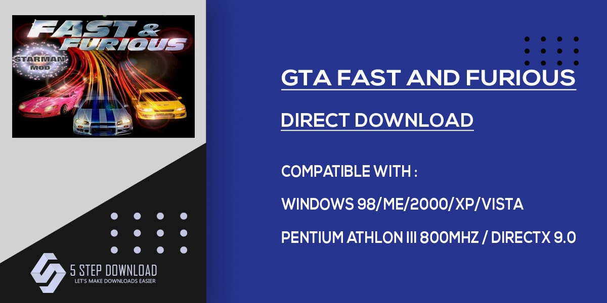 Download Free & Secure Gta Fast And Furious Latest Pc Game