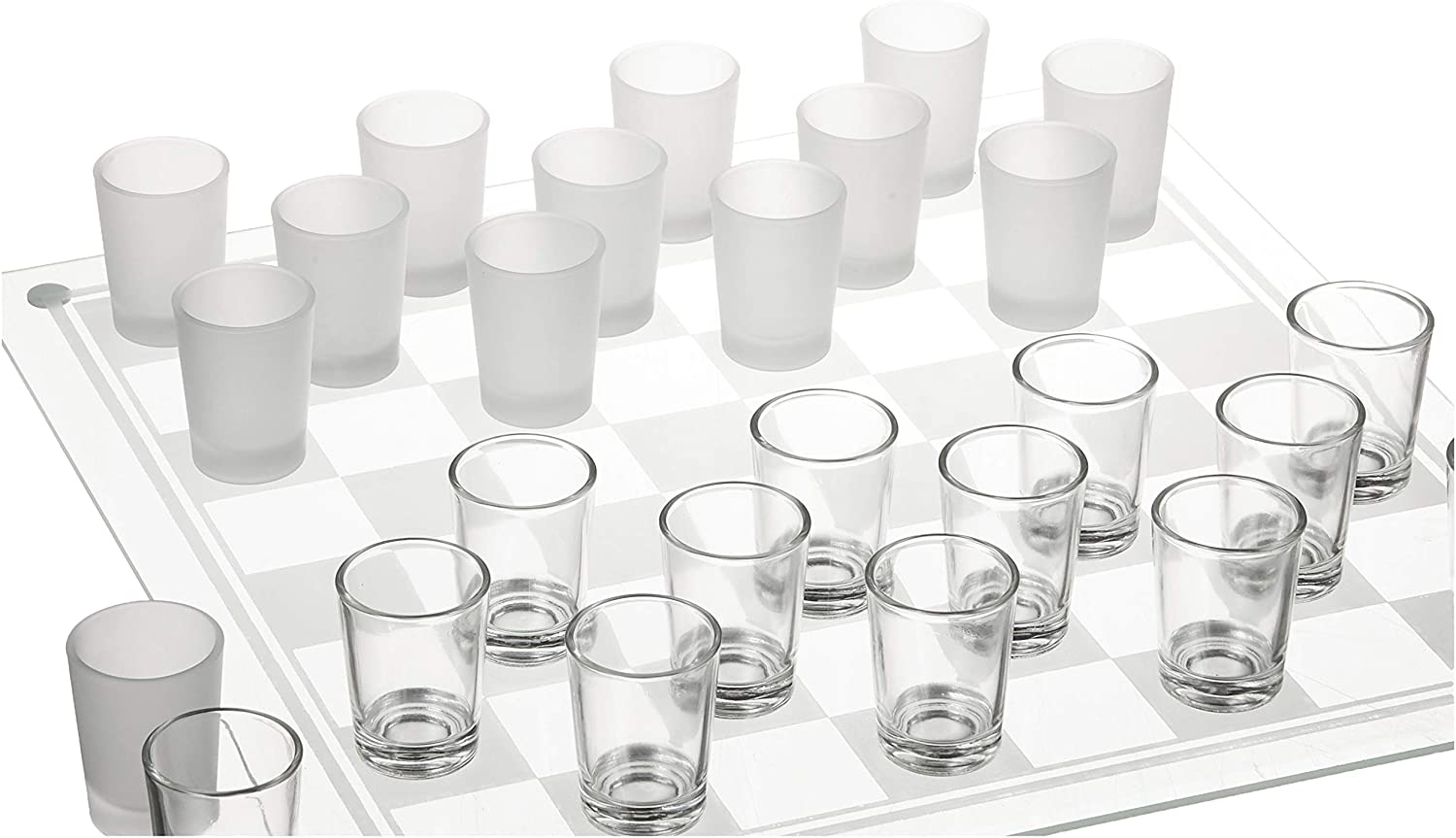 Crystal Clear Checkers Shot Drinking Game