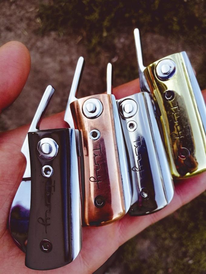 EDC Knife Tiny Project Device Pocket Friendly Customizable