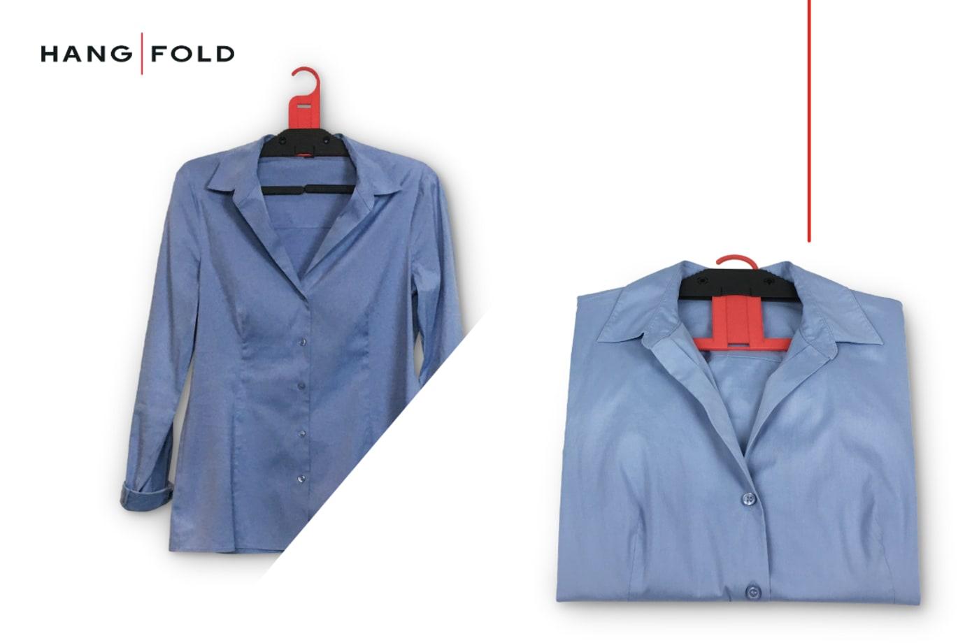 HangFold - Your Travel Partner (plastic clothes hangers)