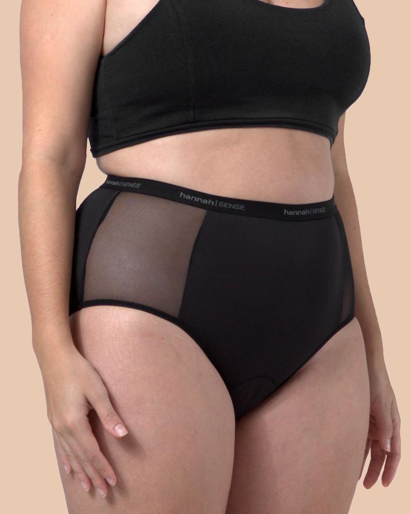 Organic Cotton Period Underwear hannah⁝SENSE