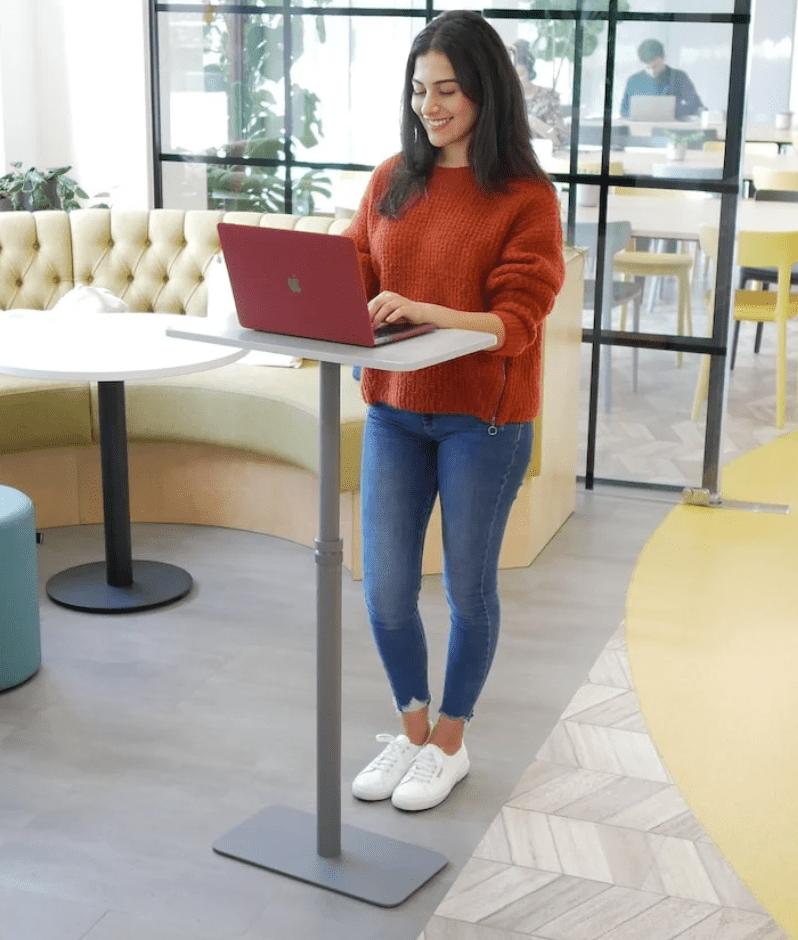 Remotable: Portable desk for better health & productivity