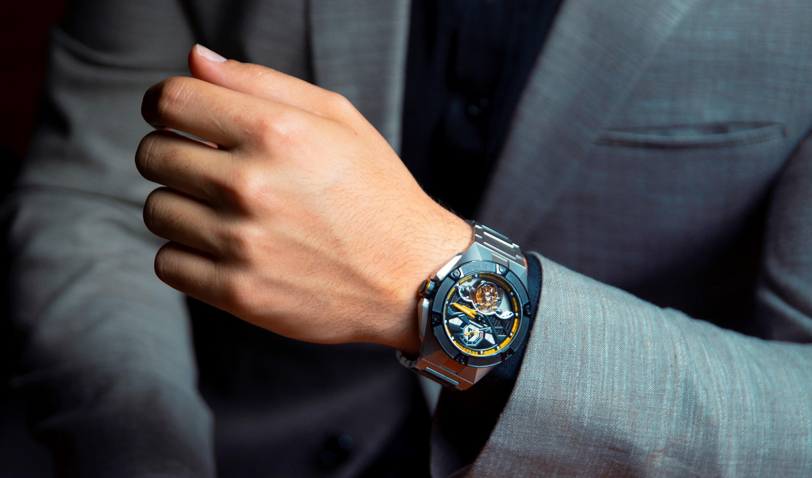 Astronic Watches - Gravity Defying Tourbillon & Skeleton