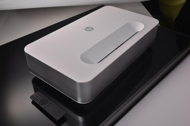 HP BP5000: World-1st Silent 4K Laser Projection TV