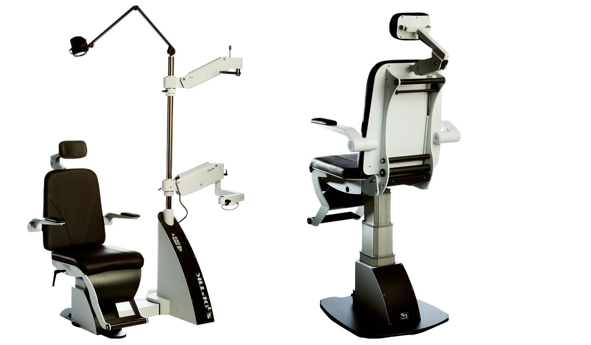 1800-CB Value Ophthalmic Chair and Stand Combo Unit