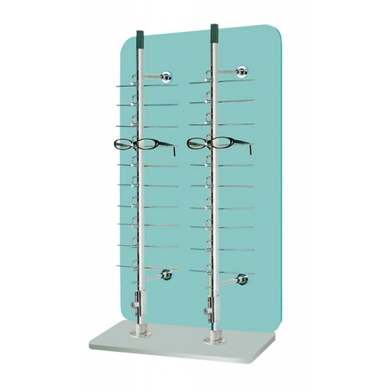 20 position Lockable Table-Top Display System
