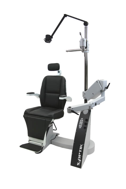 2500-CB Deluxe Ophthalmic Chair and Stand Combo Unit