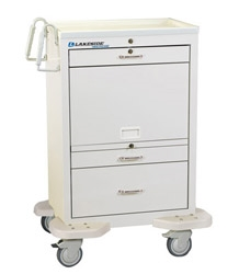 3-Drawer Medication Cart