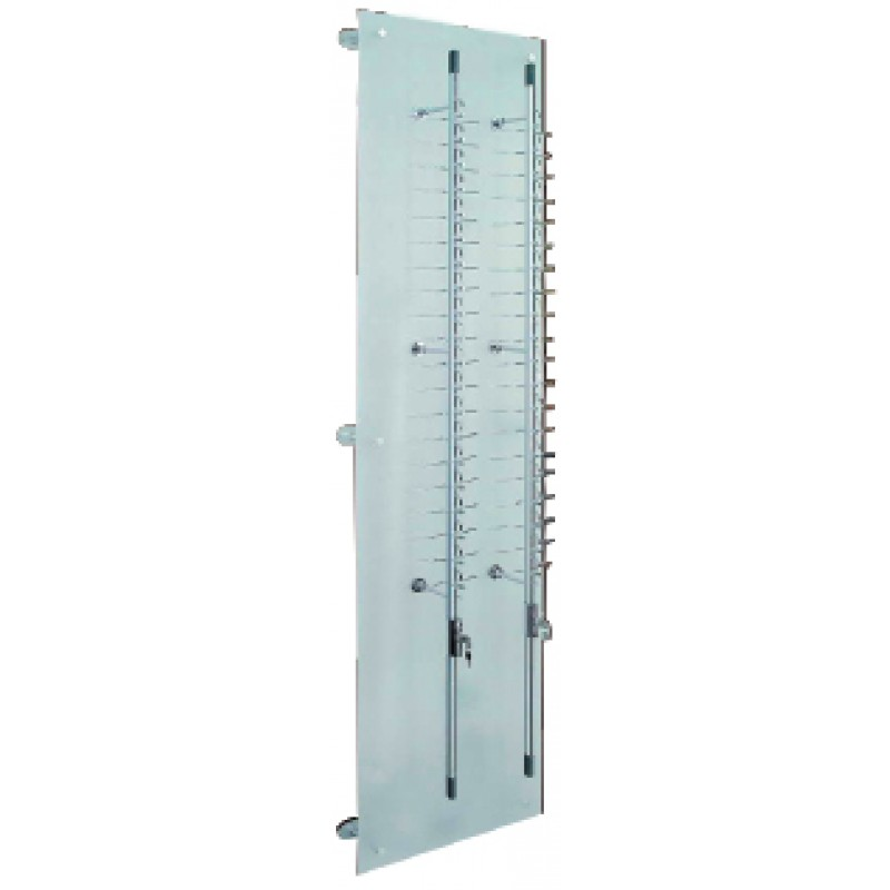40 Position Lockable Rod Frame Display Wall System