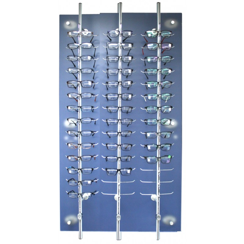 42 Position Lockable Rod Frame Display Wall System