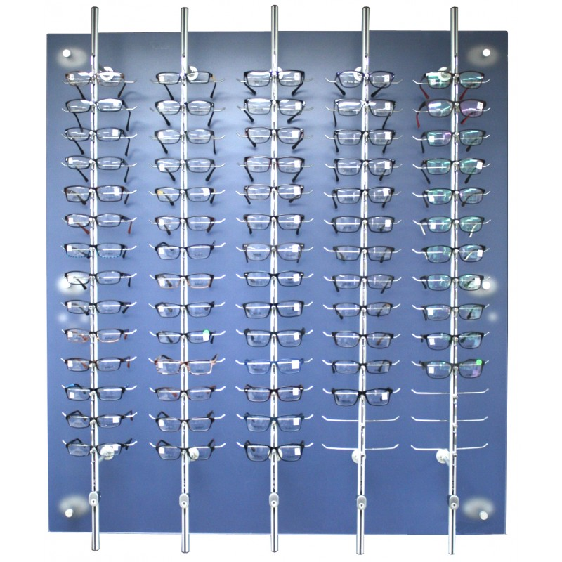 70 position Lockable Rod Frame Display Wall System