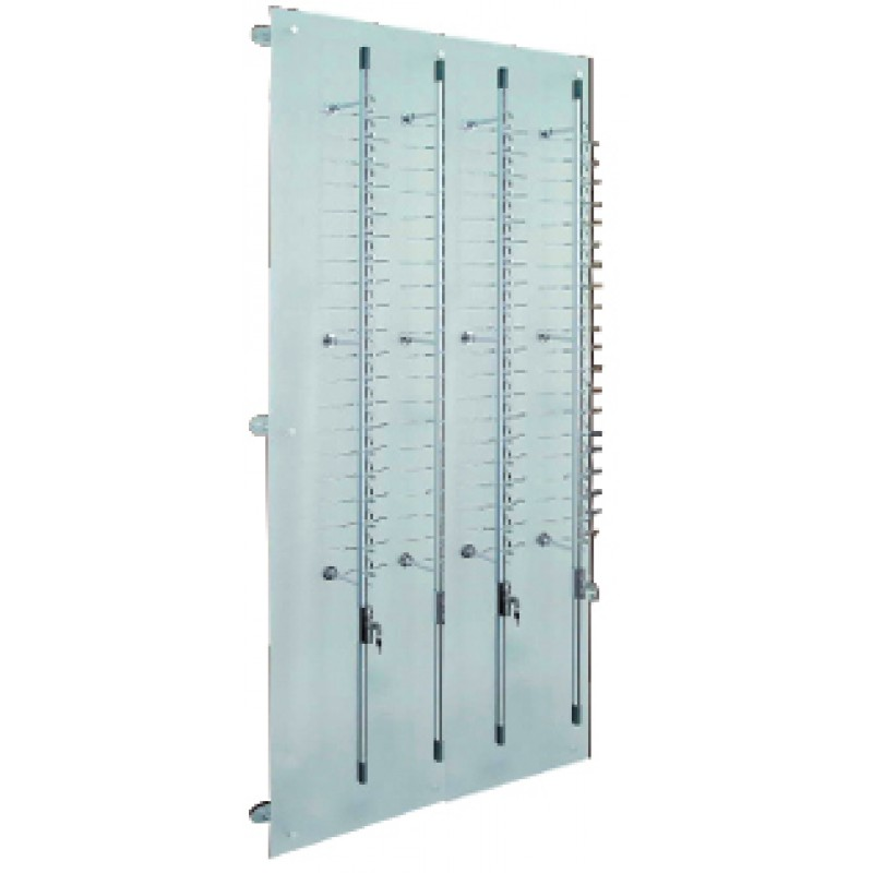 80 Position Lockable Rod Frame Display Wall System