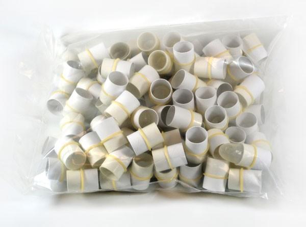 AccuTip Tonometer Tip Covers - Sleeved Bulk Bag Of 100 - Sanitized