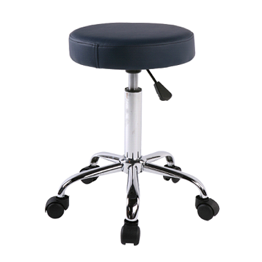 Adjustable round stool