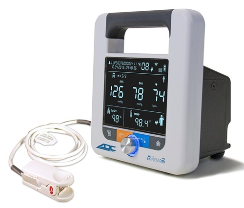 ADview 2 Monitor (Blood Pressure, Heart Rate & Masimo SpO2)