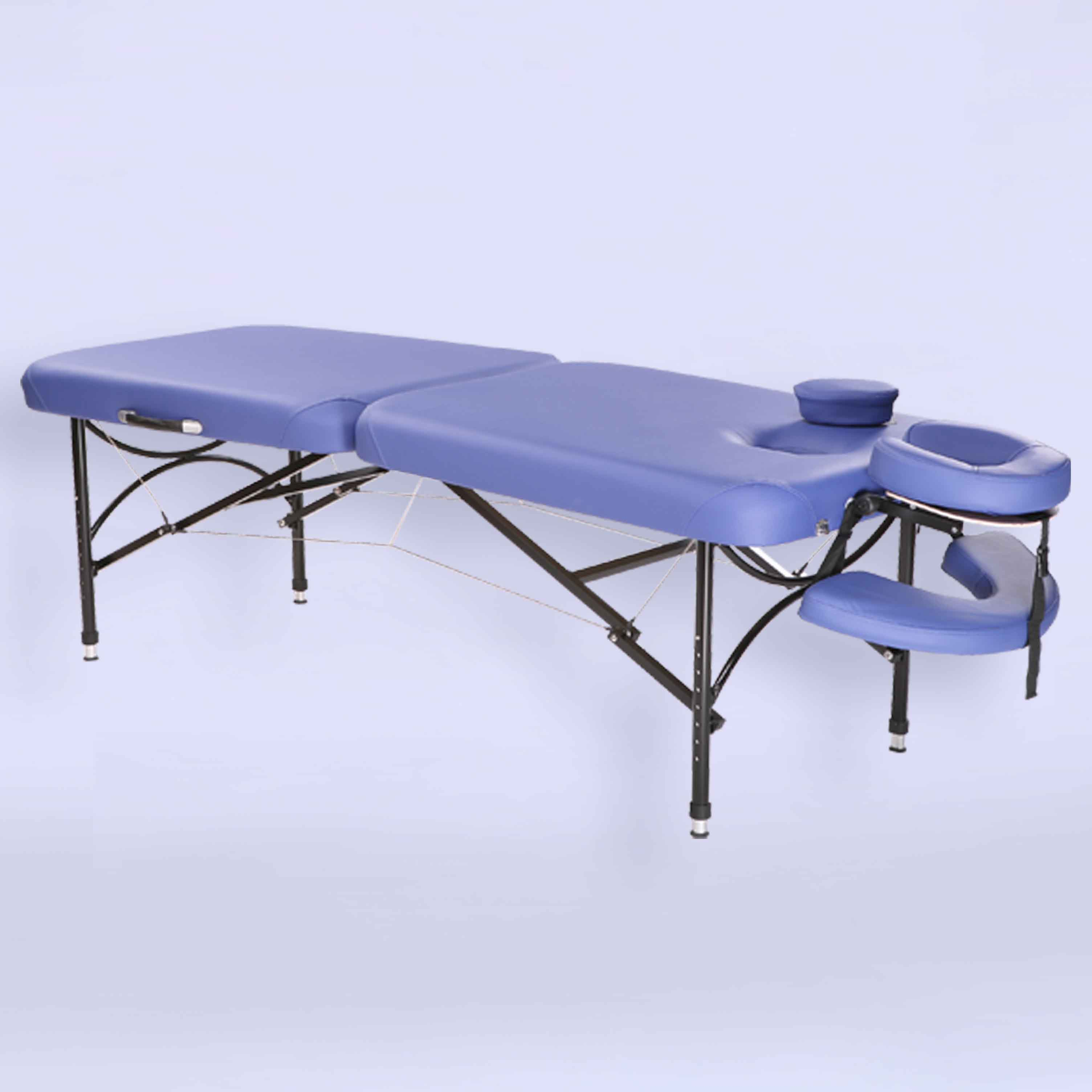Aluminum massage table