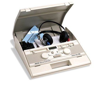AM 232 MANUAL AUDIOMETER