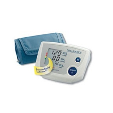 AnD LifeSource Digital Blood Pressure Monitors with SMALL Cuff, One Step Plus Memory