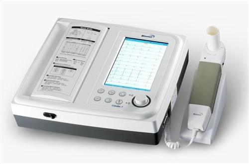 Bionet Cardio7 Interpretive ECG Machine with Spirometry (WiFi, Flash Drive w/ BMS-Plus Software, DICOM 3.0)