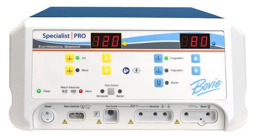 Bovie Aaron 1250S - 120 watt Electrosurgical Generator (Touchscreen)