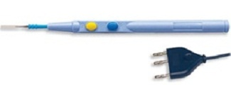 Bovie Aaron Electrosurgical Push Button Pencil with Holster & Needle, Disposable - 40/box