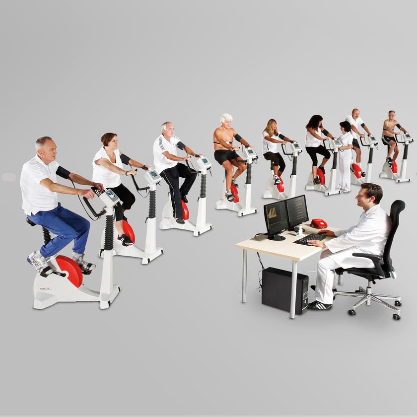 CARDIAC REHABILITATION  SRMS - SCHILLER REHABILITATION MANAGEMENT SYSTEM