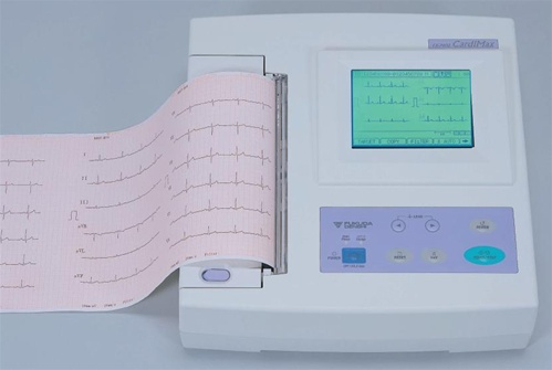 CardiMax FX-7402 Electrocardiograph Machine