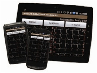 CardioCard Mobile ECG Machine