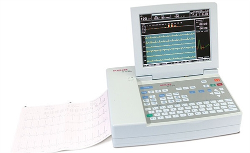 Cardiovit AT-10 Plus Resting EKG Machine