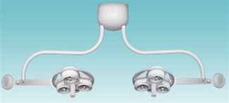 Celestial Star™ Dual Ceiling Mount Surgical Light